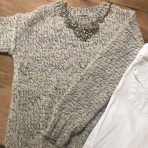 J. Crew Marled Drop Shoulder Sweater